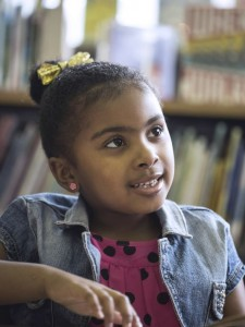 Kindergartener Zen Kweli (Photo: Marty Pearl, special to The Courier-Journal )