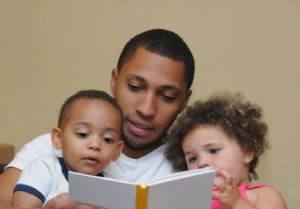 A read-aloud family.