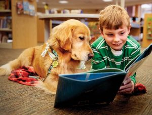 reading to dog 2