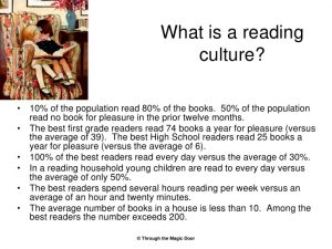 reading culture 1