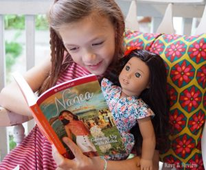 reading to doll 1